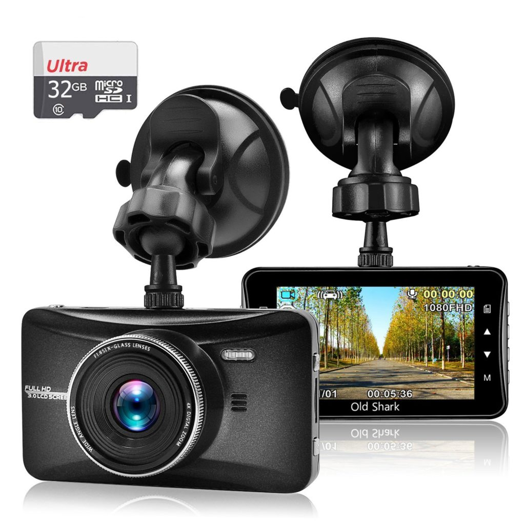 old shark 1080p dash cam review