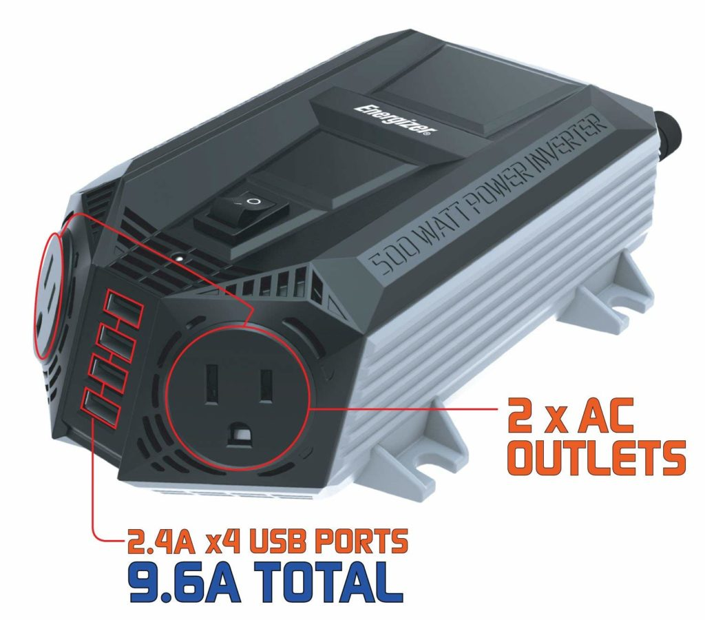 Energizer 500 Watt Power Inverter