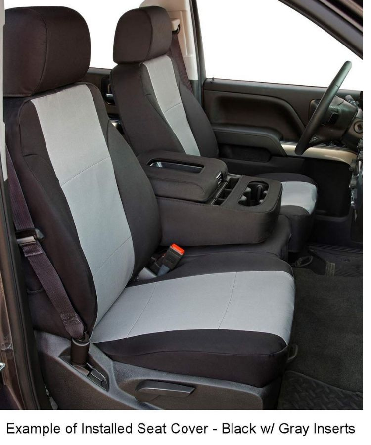 Shear Comfort seat cover installed