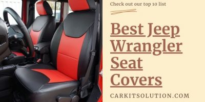 Best Jeep Wrangler Seat Covers