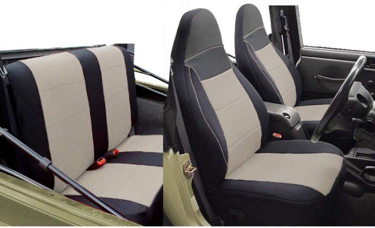 GEARFLAG Custom Fit Neoprene Seat Cover for Jeep Wrangler TJ