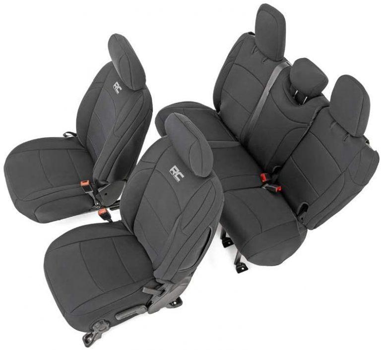 Wrangler JL Seat Covers Black 4 Door (2018-2020 Jeep